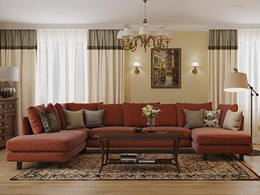 Свежий взгляд на викторианский стиль. Красочный интерьер частного дома в Межциемсе